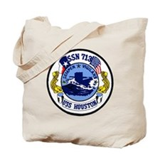 USS Houston SSN 713 Tote Bag