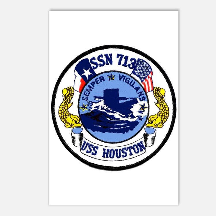 USS Houston SSN 713 Postcards (Package of 8)