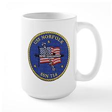 USS Norfolk SSN 714 Mug
