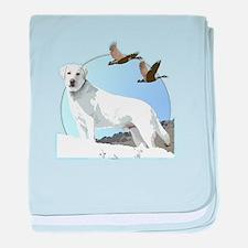 Labradors baby blanket