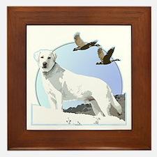Labradors Framed Tile