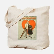Funny Vintage musical theater Tote Bag