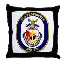 USS Providence Throw Pillow