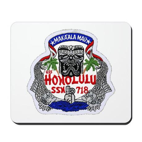 USS Honolulu SSN 718 Mousepad