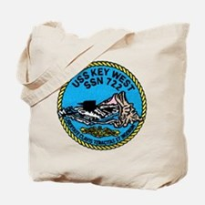 USS Key West SSN 722 Tote Bag