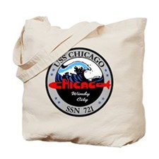 USS Chicago SSN 721 Tote Bag
