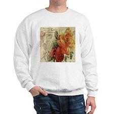 VINTAGE PARIS ROSES Sweatshirt