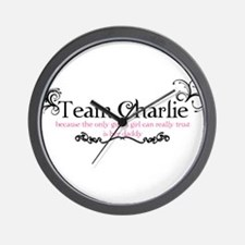 Cute Team charlie Wall Clock