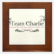Cute Team edward Framed Tile