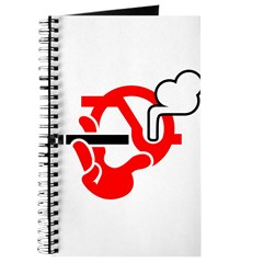 Smoking Sign Journal