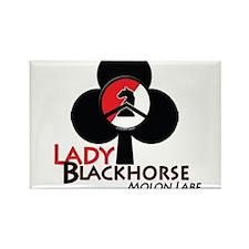 Lady Blackhorse Rectangle Magnet (10 pack)