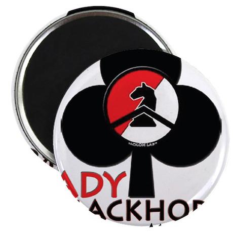 "Lady Blackhorse 2.25"" Magnet (100 pack)"