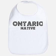 Ontario Native Bib