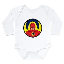 Star Hawk Long Sleeve Infant Bodysuit