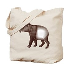 Malayan Asian Tapir Tote Bag