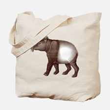 Malayan Asian Tapir Tote Bag