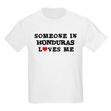 Someone in Honduras Kids T-Shirt