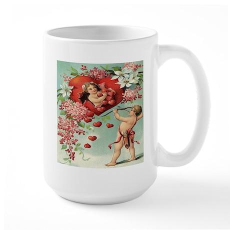 Vintage Valentine Large Mug