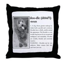Unique Labradoodle Throw Pillow