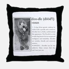 Unique Golden doodles Throw Pillow