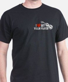 I Love My Violin Player T-Shirt
