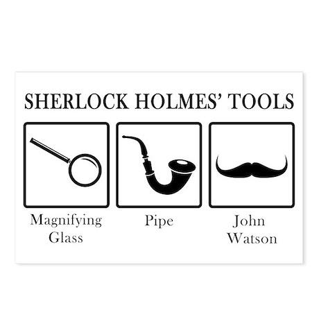 Sherlock Holmes' Tools Postcards (Package of 8)