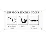 Sherlock Holmes' Tools Banner