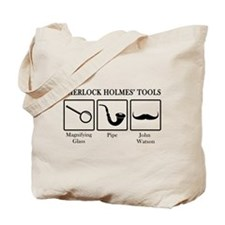 Sherlock Holmes' Tools Tote Bag