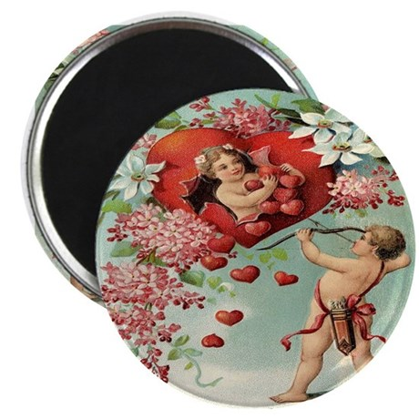 Vintage Valentine Magnet
