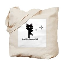 Cute Awesome ninja Tote Bag