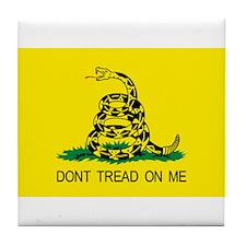 Do Not Tread Flag Tile Coaster