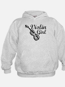 Violin Girl Hoodie