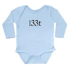 l33t Long Sleeve Infant Bodysuit