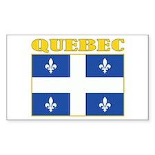 Quebec Flag Decal