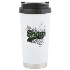 Shaw Tartan Grunge Travel Mug