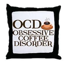 Funny Coffee Throw Pillow
