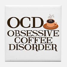 Funny Coffee Tile Coaster