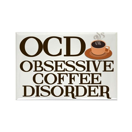 Funny Coffee Rectangle Magnet