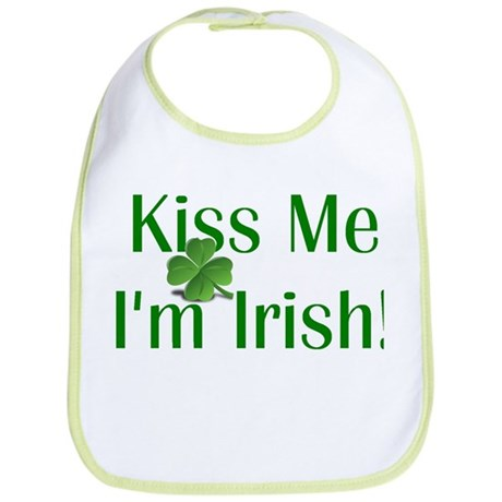 Kiss Me I'm Irish Bib
