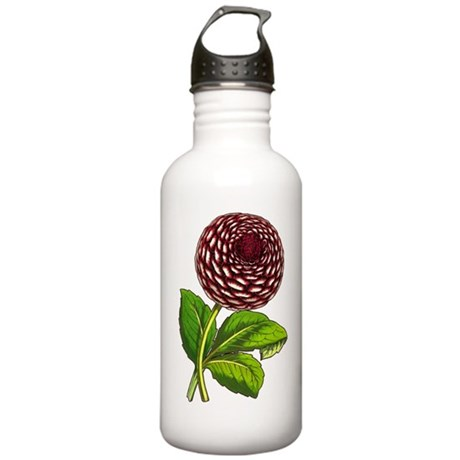 Big Beautiful Dahlia Stainless Water Bottle 1.0L