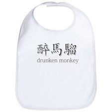 Drunken Monkey Bib