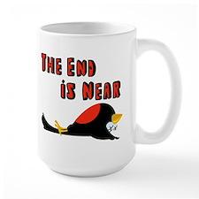 The End Is Near Birds Falling Mug