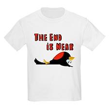 The End Is Near Birds Falling T-Shirt