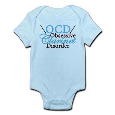 Cute Clarinet Infant Bodysuit