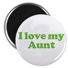 I Love My Aunt Magnet