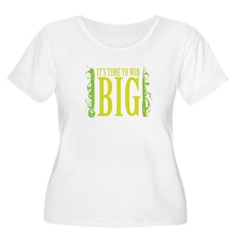 win big Women's Plus Size Scoop Neck T-Shirt