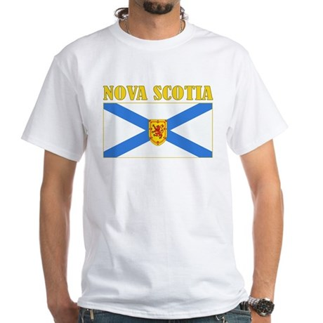 Nova Scotia White T-Shirt