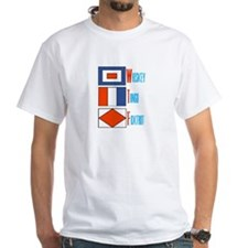 WTF Signal Flags Shirt