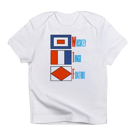 WTF Signal Flags Infant T-Shirt