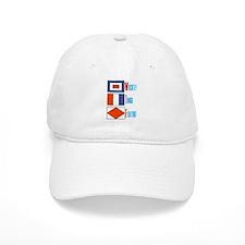 WTF Signal Flags Baseball Cap